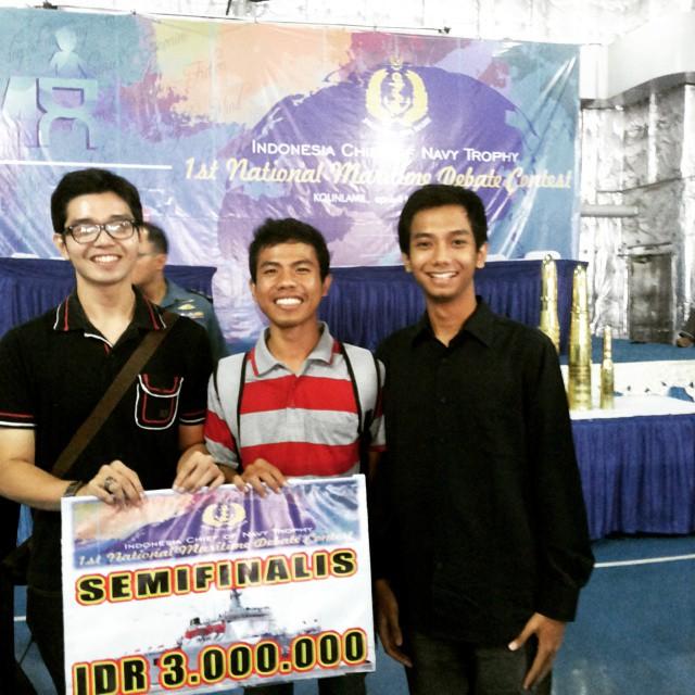 M. Afdhal Anugrah, Haris Apriyanto, & Billal Andre Piala Kasal 2015 Jakarta
