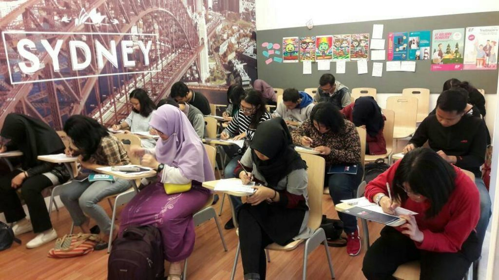 TOEFL Simulation from Convers ft EF Malang